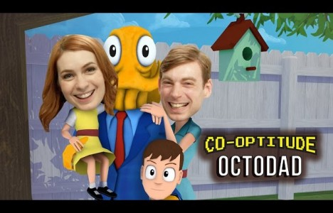 Watch Let's Play Octodad! (Co-Optitude w/ Ryon and Felicia Day)