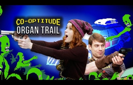 Watch Let's Play ORGAN TRAIL (Co-Optitude w/ Ryon and Felicia Day)