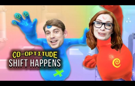Watch Let's Play SHIFT HAPPENS (Co-Optitude w/ Ryon and Felicia Day)